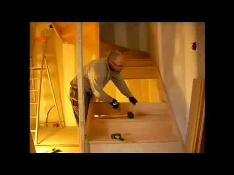 comment installer escalier