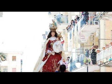 folklore e religione: la madonna delle galline - pagani