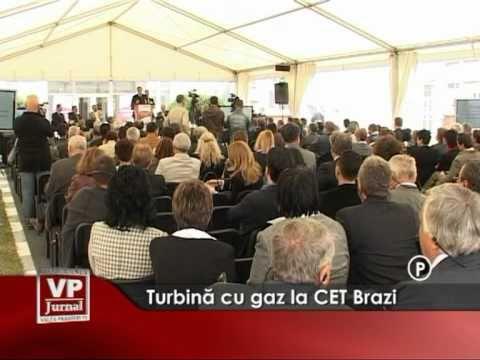 Turbina cu gaz la CET Brazi