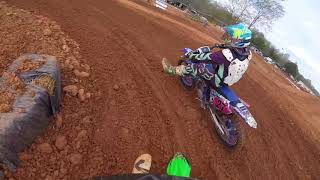 8. MOTO BATTLE(yz125 vs kx100) at 421mx