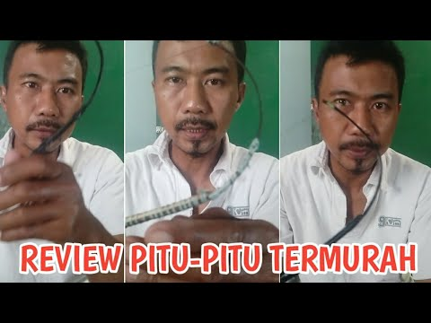 Review Pitu-pitu Bugis Termurah Pelat Baja dan Full Bambu Request Subscriber