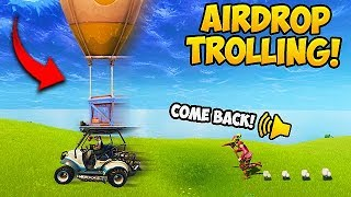 Video STEALING AIR DROPS! (2000 IQ) - Fortnite Funny Fails and WTF Moments! #285 MP3, 3GP, MP4, WEBM, AVI, FLV Agustus 2018