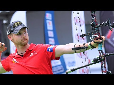 compound - Compound Men Team Gold Match from the second stage of the Archery World Cup 2013 in Antalya (TUR) United States Of America VS Denmark Commentators : Carl ARC...