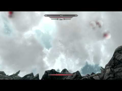 Hilarious Glitch in Skyrim Video