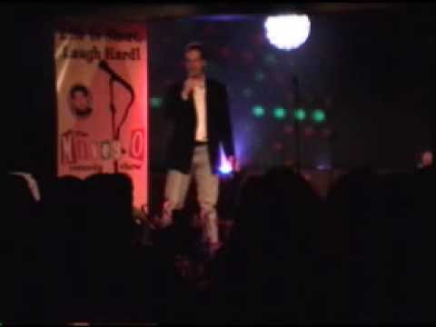 Comedian Nile Dean at Club Watra 11-20-09