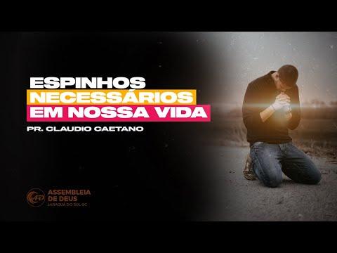 ESPINHOS NECESSÁRIOS EM NOSSA VIDA - Pr. Claudio C