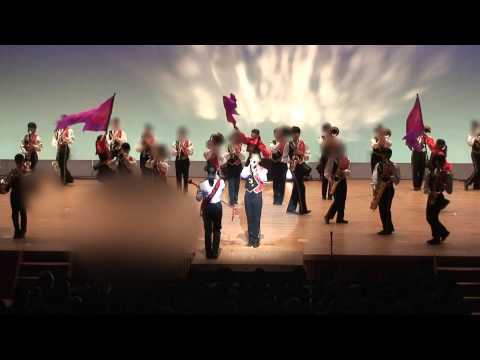 ★広島市佐伯区★Fainal Concert2014 ステージマーチング  五日市中学校