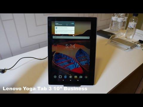 Lenovo Tab 3 10 Business Hands on