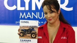 2. Clymer Manuals Yamaha Warrior Manual YFM350X YFM YFM350 ATV Shop Service Repair Video