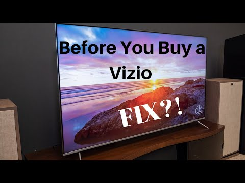 Before you buy a Vizio and input lag fix