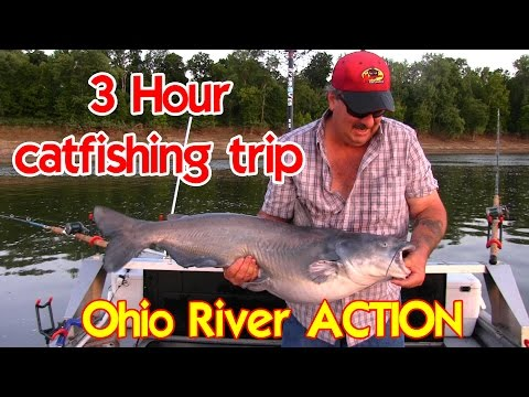 3 Hour Catfishing Trip On The Ohio River