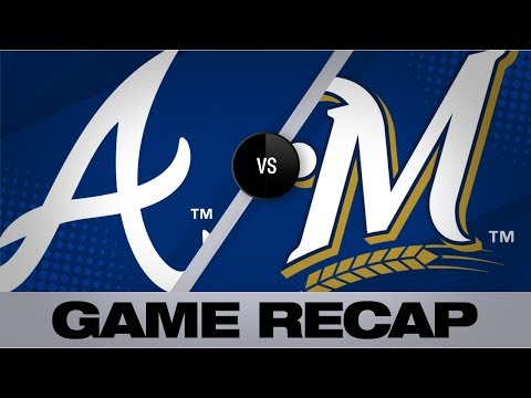 Video: Yelich, Pina homer in Brewers' 5-4 victory   Braves-Brewers Game Highlights 7/17/19