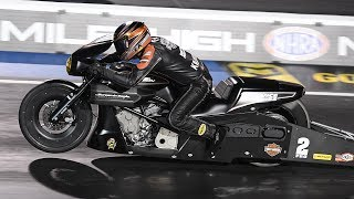 Eddie Krawiec posted a 7.178 at 185.66 mph to take the top spot in Friday qualifying at the MOPAR Mile-High NHRA Nationals. Facebook: https://www.facebook.com/NHRATwitter: @NHRA: https://twitter.com/NHRA Instagram: @NHRA: http://instagram.com/nhraSnapchat: @NHRATumblr: @NHRAOfficialNHRA ALL ACCESS Live Stream: http://bit.ly/nhraallaccess