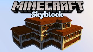 Raiding a Woodland Mansion in Skyblock! • Minecraft 1.15 Skyblock (Tutorial Let's Play) [Part 22]