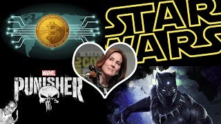 Ver online Kathleen Kennedy, Punisher, Bitcoins y mas Star Wars