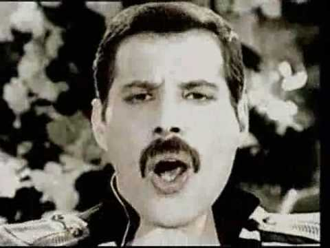 Freddie Mercury Living On My Own