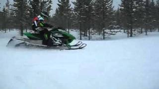 6. 2012 Arctic Cat F1100 Through the Bumps