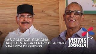 Las Galeras, Samaná. Danilo entrega centro de acopio y fabrica de quesos
