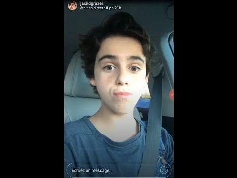 """Jack Dylan Grazer New Instagram (watch """"Me myself and I"""")"""