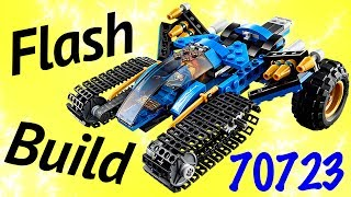 Animated LEGO Thunder Raider 70723 Ninjago 2014 Flash Speed Build