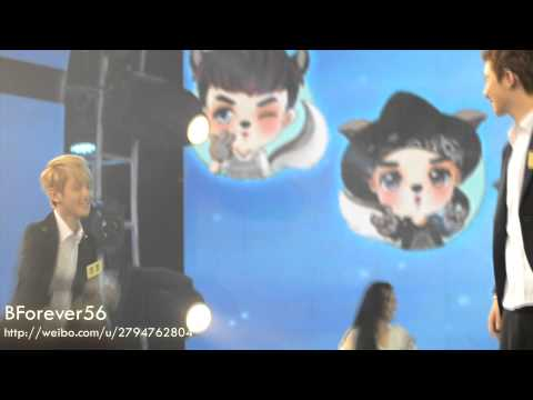 [BForever56] 130729 Baekyun Chanyeol Kai D.O. sexy dance fancam (видео)