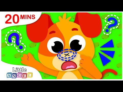 Where is My Nose? No No Safety Tips, Princess Songs & Nursery Rhymes by Little Angel