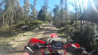 6. Awesome Day Riding A Crf450x And Wr450f 2013