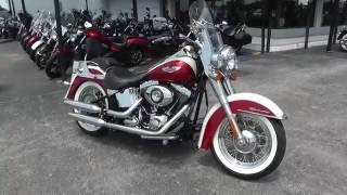 8. 045069 - 2013 Harley Davidson Softail Deluxe FLSTN - Used Motorcycle For Sale