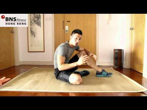 健身超快方法十分鐘簡單WORKOUT: 屁股及腹部減肥鍛煉