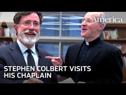 Stephen Colbert Talks About his Catholic Faith