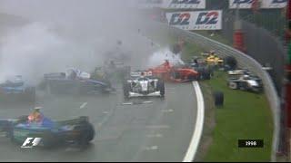 Video Your Favourite Belgian Grand Prix - 1998 Chaos & Carnage in Spa MP3, 3GP, MP4, WEBM, AVI, FLV Juli 2018
