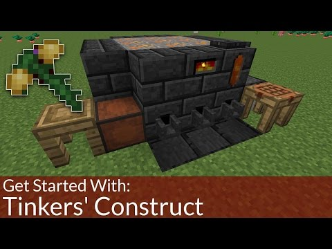 How To Get Started With: Tinkers' Construct   Modded Minecraft