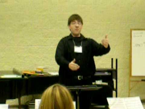 Clausen Choral School conductor