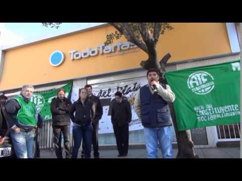 """Diego Lencinas: """"La CTA va a estar al frente por más organización"""""""