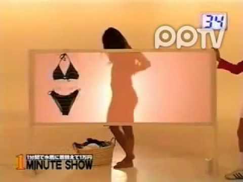 日本整人節目 日本女星挑戰一分鐘換衣尷尬走光