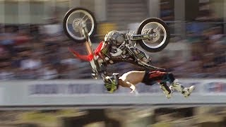 Video Cliffhanger vs Rock Solid Backflip - Next Level FMX Contest MP3, 3GP, MP4, WEBM, AVI, FLV Juni 2019