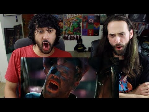 Marvel Studios' AVENGERS: INFINITY WAR - OFFICIAL TRAILER (#2) REACTION!!! (видео)