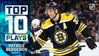 Top 10 Patrice Bergeron plays from 2018-19 by NHL