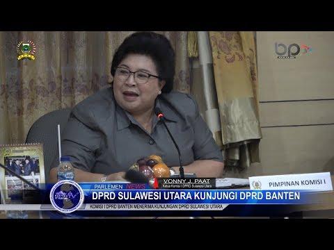 Persatuan Wartawan Indonesia (PWI) Provinsi Banten Kunjungi DPRD Banten