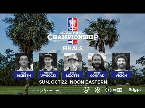 Pro Tour: DGPT Championship Presented by Prodigy - Finals (видео)
