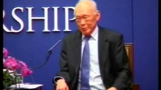 Video Singapore Prime Minister, LEE Kuan Yew taking questions in Hong Kong MP3, 3GP, MP4, WEBM, AVI, FLV Maret 2019