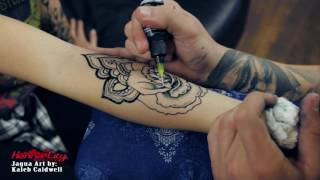 Video Amazing temporary tattoo made with jagua gel - Henna City MP3, 3GP, MP4, WEBM, AVI, FLV Oktober 2018