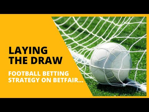 Laying the Draw: Football Trading Strategy