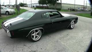 Lawell Motorsports' built 1970 Chevelle warming up the tires, this Chevelle is fully built, it has a 125HP nitrous kit, Ported heads,...