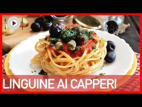 linguine ai capperi - ricetta siciliana