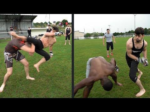 Combat mon frere vs Ismael et Maga assassin vs David le boxer (YFC 2)