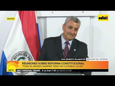 Reuniones sobre reforma constitucional