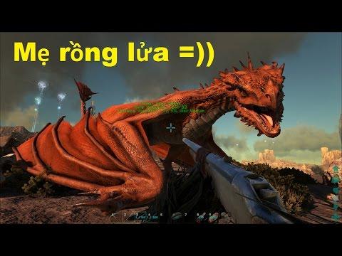 ARK: Scorched Earth #24 - Bắt mẹ Rồng lửa Fire Wyvern về nuôi Rồng con =)) - Thời lượng: 1:04:36.