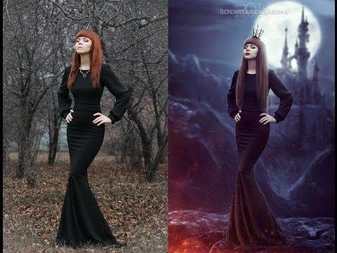 Speed Art. Queen of Darkness by Boyarskaya Larina