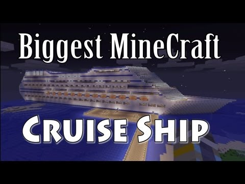 ( OLD ) Biggest Minecraft Cruise Ship Xbox 360 Edition